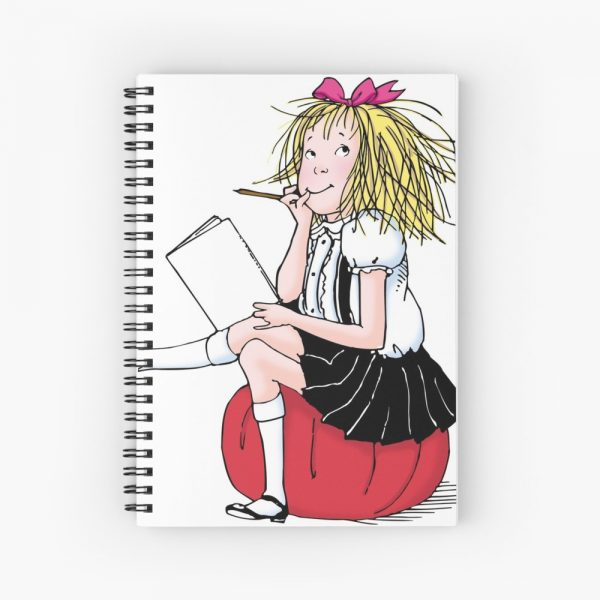Eloise Thinking Spiral Notepad