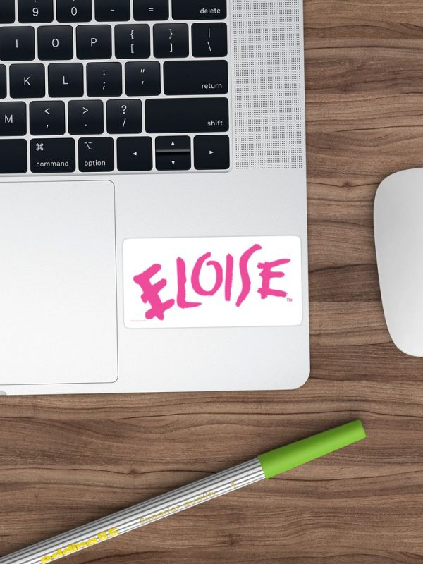 Eloise Sticker on a laptop