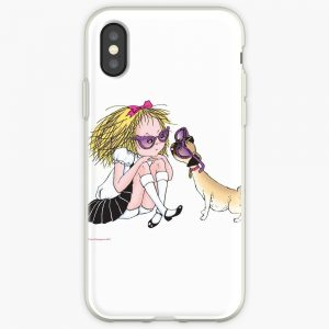 Eloise and Weenie in Sunglasses iPhone Case Cover