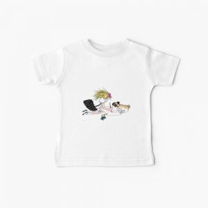 Eloise and the gang painting Baby T-Shirt