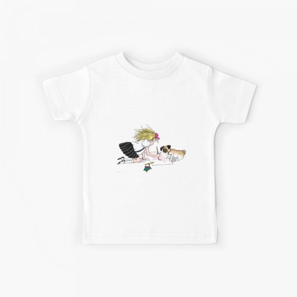 Eloise and the gang painting Kids T-Shirt